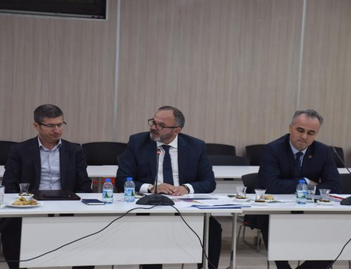 """OSB'mize İzmir Büyükşehir Belediyesi tarafından kurulacak """"İtfaiye Teşkilatı"""" çalışmalarına başlama kararı alındı."""