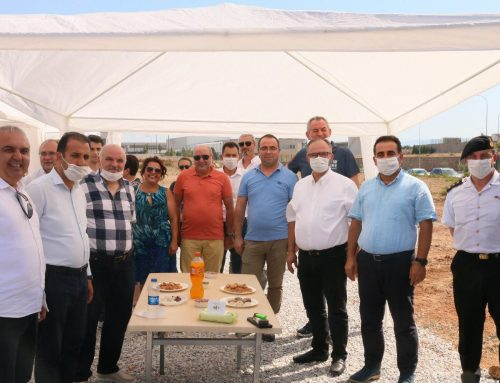 Bölgemiz katılımcılarından EMA End. Mak. A.Ş.'nin 24 Temmuz Cuma günü temel atma töreni gerçekleştirildi.